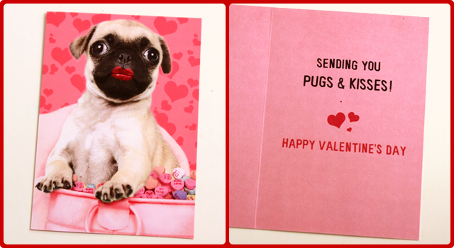 manufactured by papyrus recycled greetings inc in connection with dci studios - Dog Valentines Day Cards